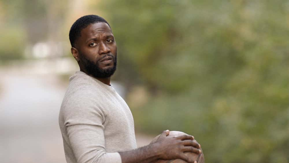 "MANIFEST Season 3 Episode 2 -- ""Deadhead"" Episode 302 -- Pictured in this screengrab: Warner Miller as Tarik -- (Photo by: NBC)"