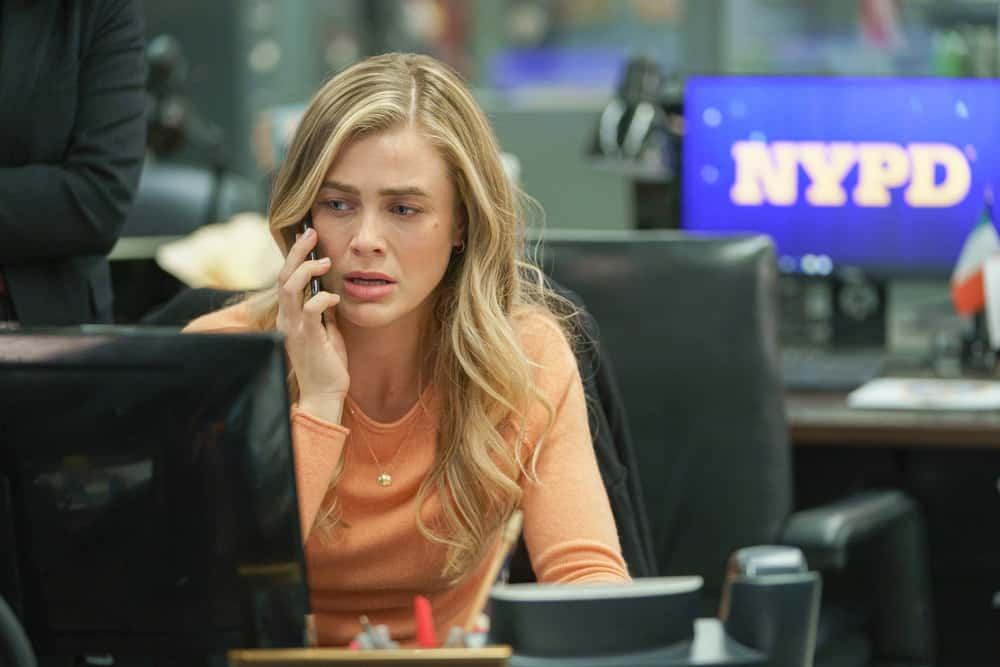 "MANIFEST Season 3 Episode 2 -- ""Deadhead"" Episode 302 -- Pictured: Melissa Roxburgh as Michaela Stone -- (Photo by: Peter Kramer/WBTV/NBC)"