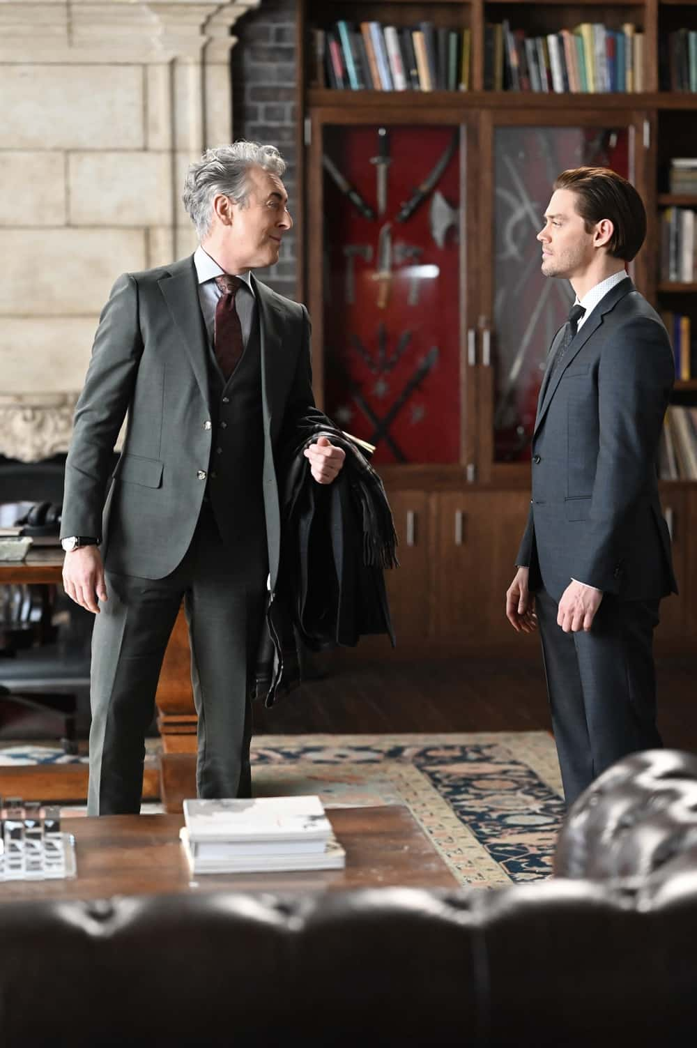 PRODIGAL SON Season 2 Episode 8 : L-R: Guest star Alan Cumming and Tom Payne in the ìOuroborosî episode of PRODIGAL SON airing Tuesday, April 13 (9:01-10:00 PM ET/PT) on FOX. ©2021 Fox Media LLC Cr: Phil Caruso/FOX