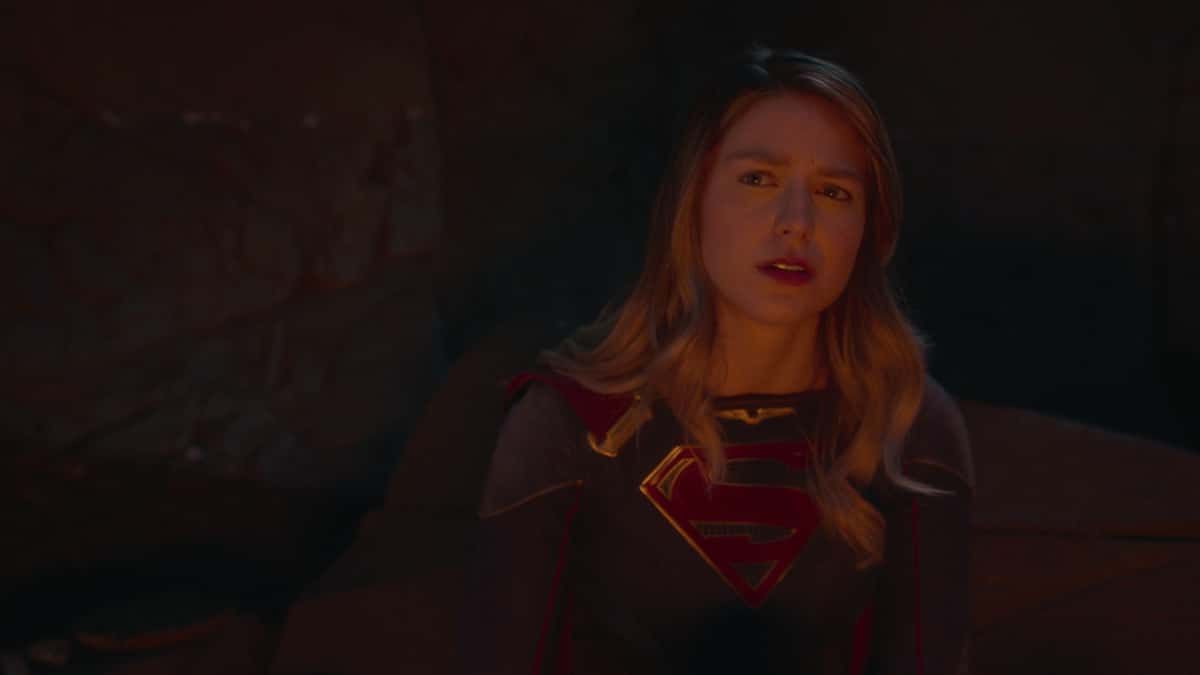 """Supergirl Season 6 Episode 3 -- """"Phantom Menaces"""" -- Image Number: SPG602fg_0009r.jpg -- Pictured: Melissa Benoist as Supergirl Photo: The CW -- © 2021 The CW Network, LLC. All Rights Reserved."""