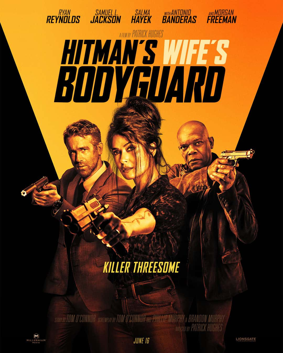 HITMAN'S WIFES BODYGUARD Poster