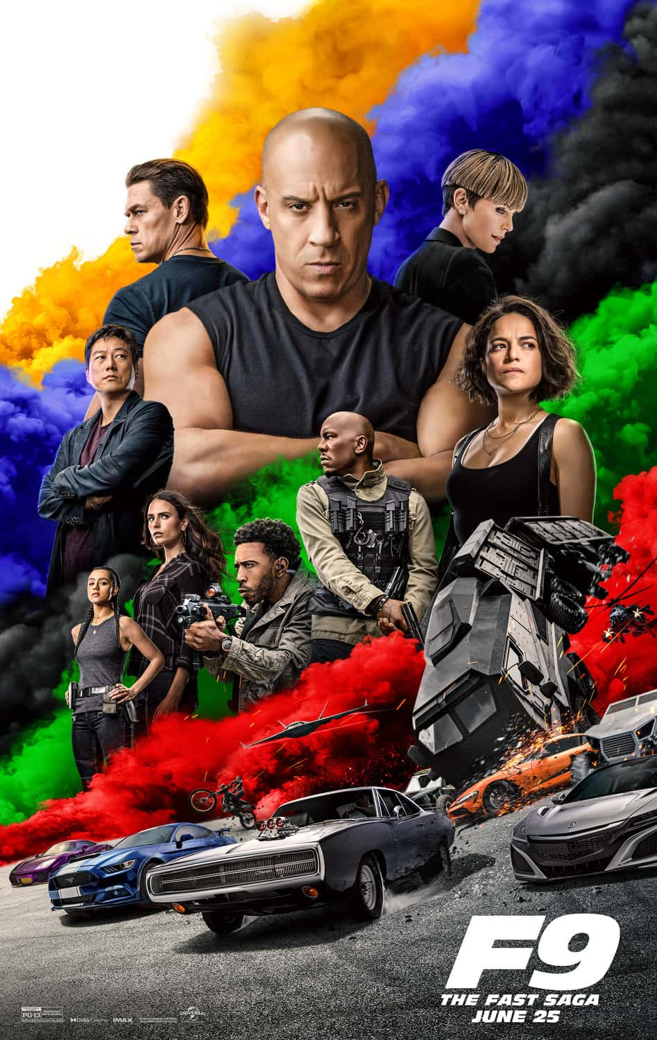 New f9 Poster Fast And Furious