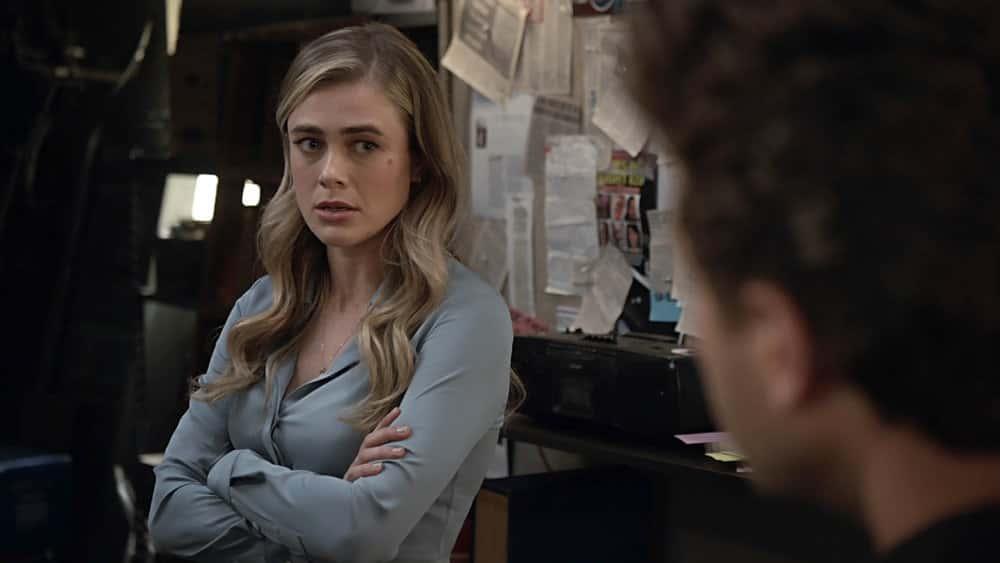 "MANIFEST Season 3 Episode 3 -- ""Wingman"" Episode 303 -- Pictured in this screengrab: Melissa Roxburgh as Michaela Stone -- (Photo by: NBC)"