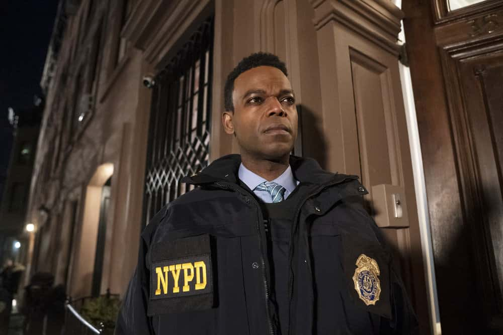 """LAW AND ORDER SVU Season 22 Episode 11 -- """"Our Words Will Not Be Heard"""" Episode 22011 -- Pictured: Demore Barnes as Deputy Chief Christian Garland -- (Photo by: Heidi Gutman/NBC)"""