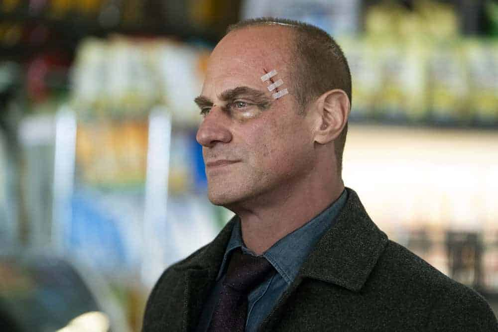 """LAW AND ORDER ORGANIZED CRIME Season 1 Episode 3 -- """"Say Hello To My Little Friend"""" Episode 103 -- Pictured: Christopher Meloni as Detective Elliot Stabler -- (Photo by: Heidi Gutman/NBC)"""