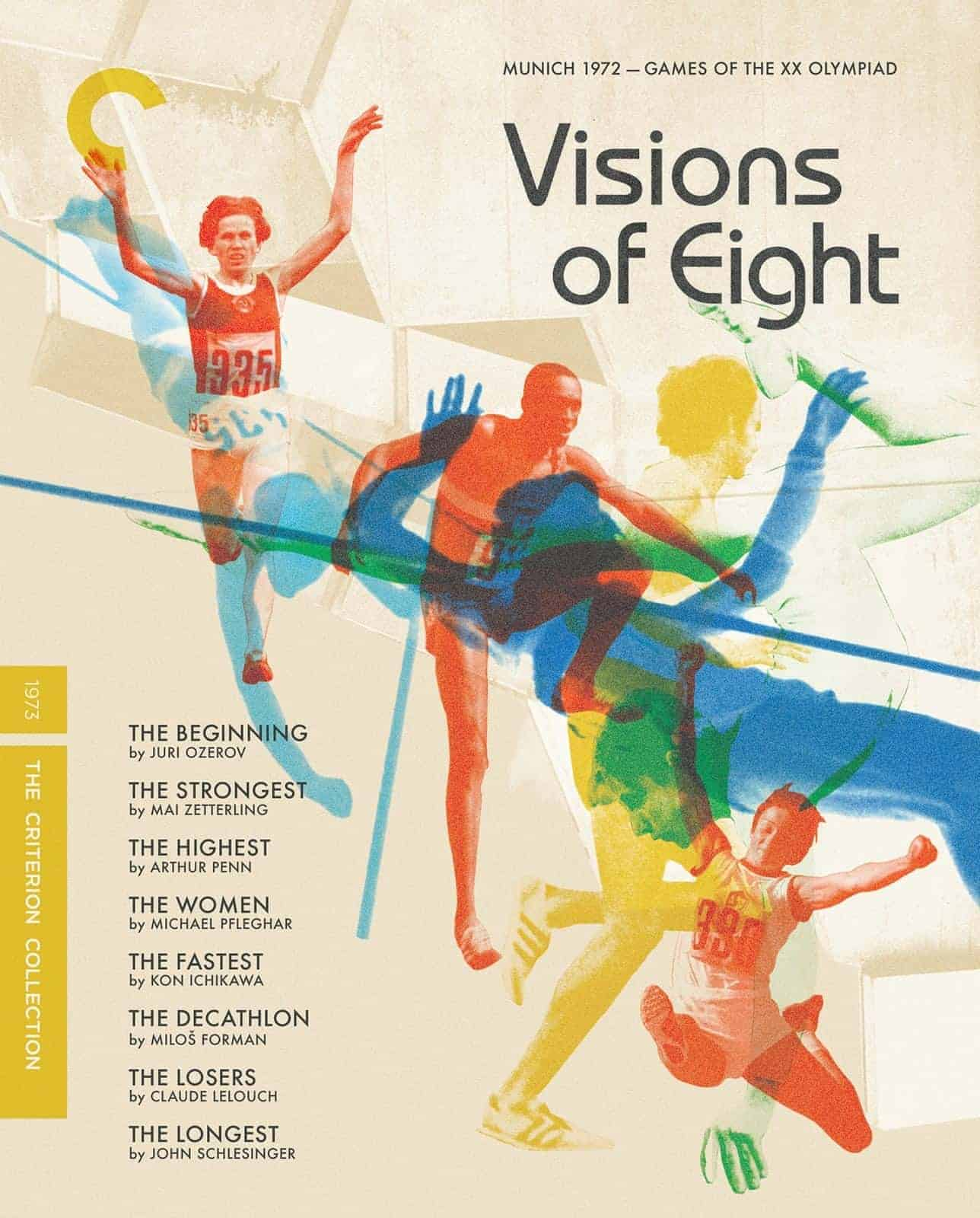Visions Of Eight The Criterion Collection Blu-ray Cover