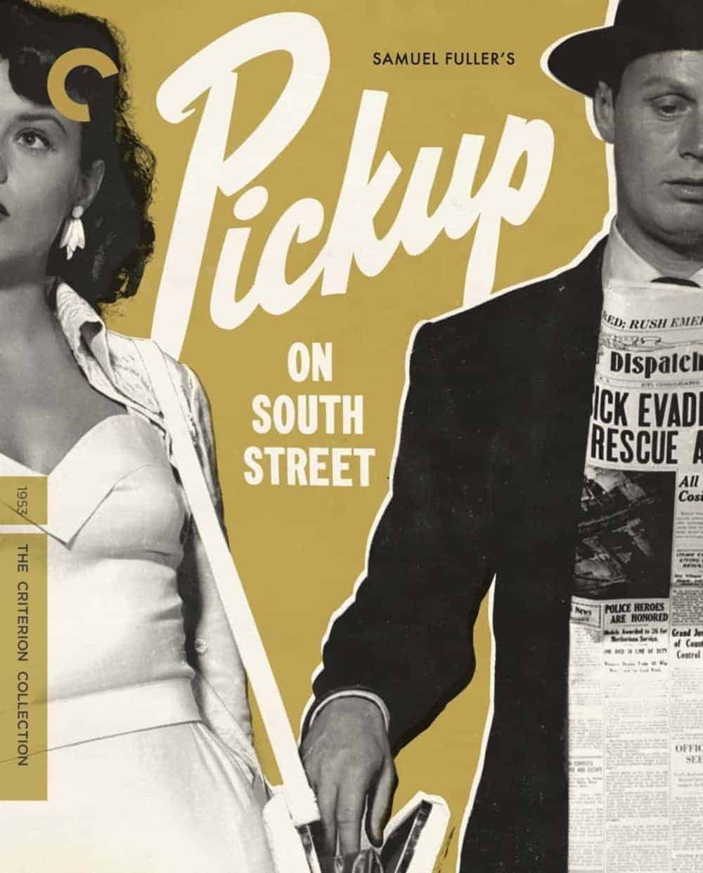 Pickup On South Street The Criterion Collection Blu-ray Cover