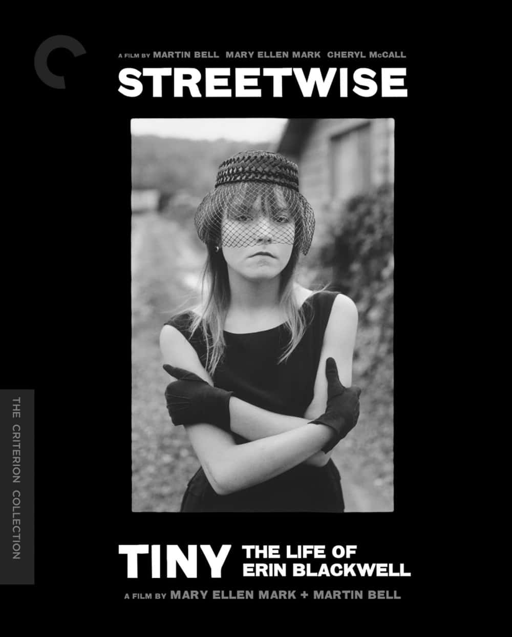 Streetwise/Tiny: The Life of Erin Blackwell The Criterion Collection Blu-ray Cover