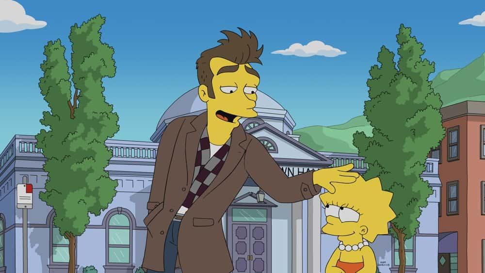 Benedict Cumberbatch The Simpsons