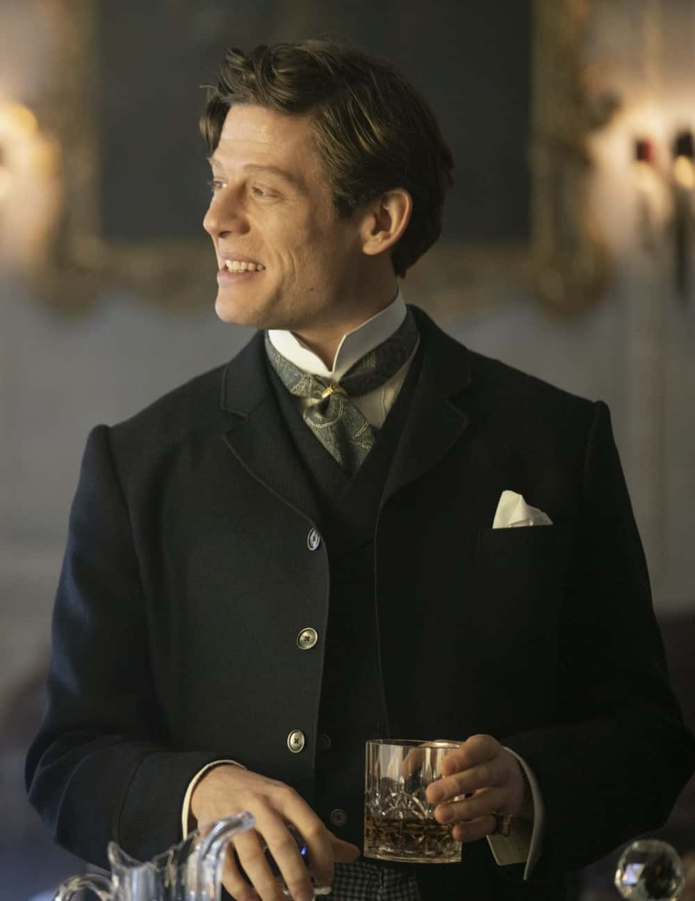 "The Nevers Season 1 Episode 2 ""Exposure"" James Norton HBO The Nevers Photograph by HBO / Keith Bernstein"
