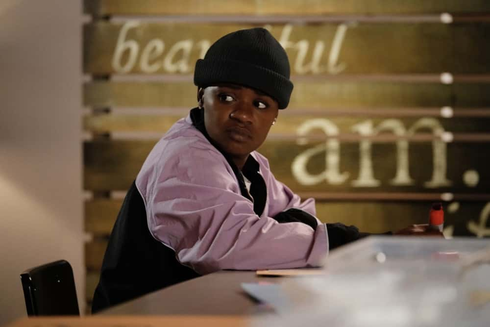 "All American Season 3 Episode 10 -- ""Put Up or Shut Up"" -- Image Number: ALA310d_0350r.jpg -- Pictured: Bre -Z as Coop  -- Photo: Lisa Rose/The CW -- © 2021 The CW Network, LLC. All Rights Reserved"