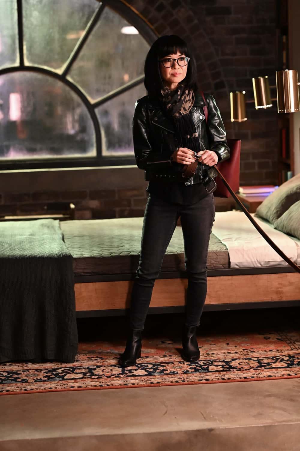 """PRODIGAL SON Season 2 Episode 9 : Keiko Agena in the """"Killabustas"""" episode of PRODIGAL SON airing Tuesday, April 20 (9:01-10:00 PM ET/PT) on FOX. ©2021 Fox Media LLC Cr: Phil Caruso/FOX"""