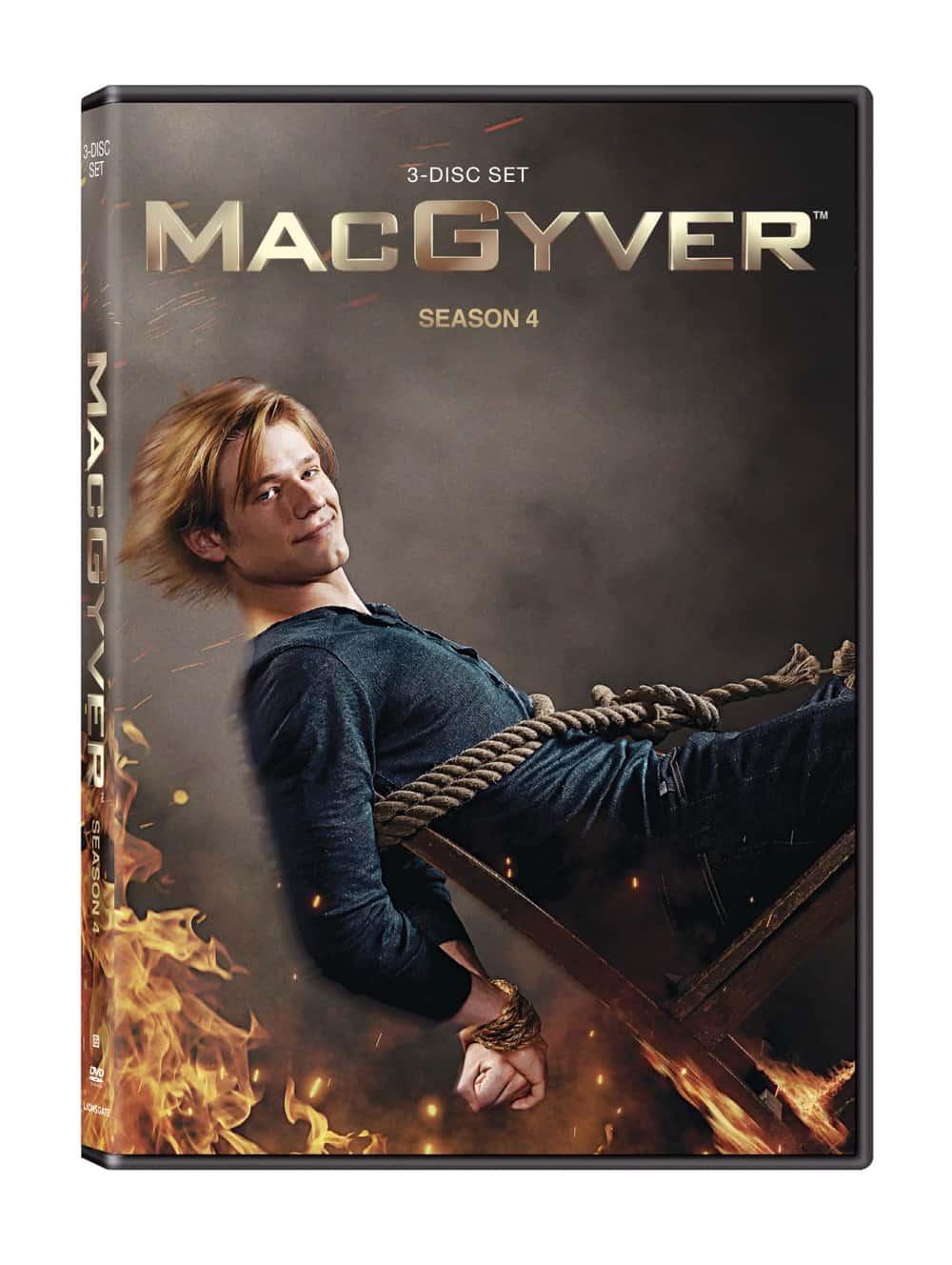 MacGyver Season 4 DVD Cover
