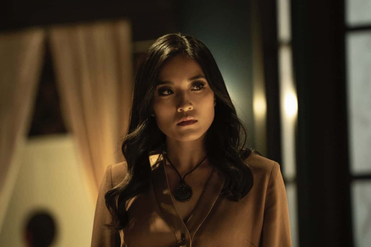 """Kung Fu Season 1 Episode 3 -- """"Patience"""" -- Image Number: KF103fg_0012r.jpg -- Pictured: Yvonne Chapman as Zhilan -- Photo: Katie Yu/The CW -- © 2021 The CW Network, LLC. All Rights Reserved"""