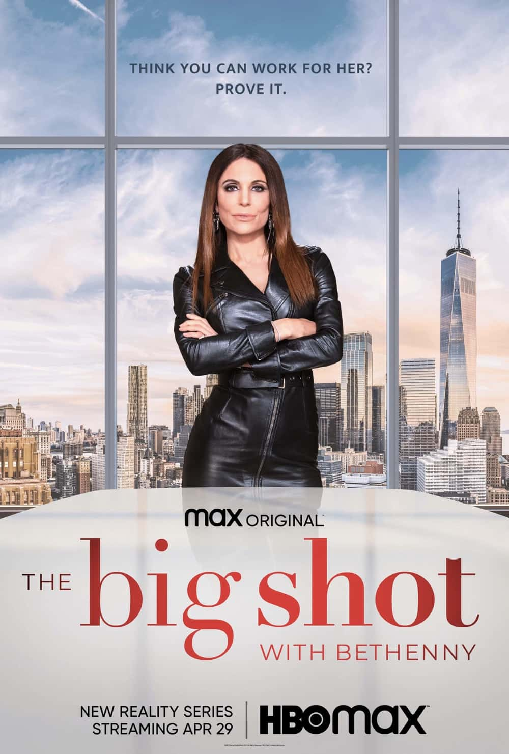 THE BIG SHOT WITH BETHENNY Key Art Poster HBO Max