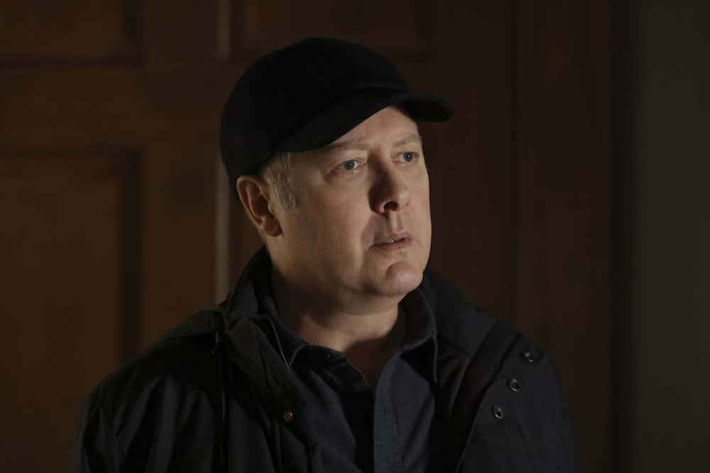 """THE BLACKLIST Season 8 Episode 14 -- """"Misère"""" Episode 814 -- Pictured: James Spader as Raymond """"Red"""" Reddington -- (Photo by: Will Hart/NBC)"""