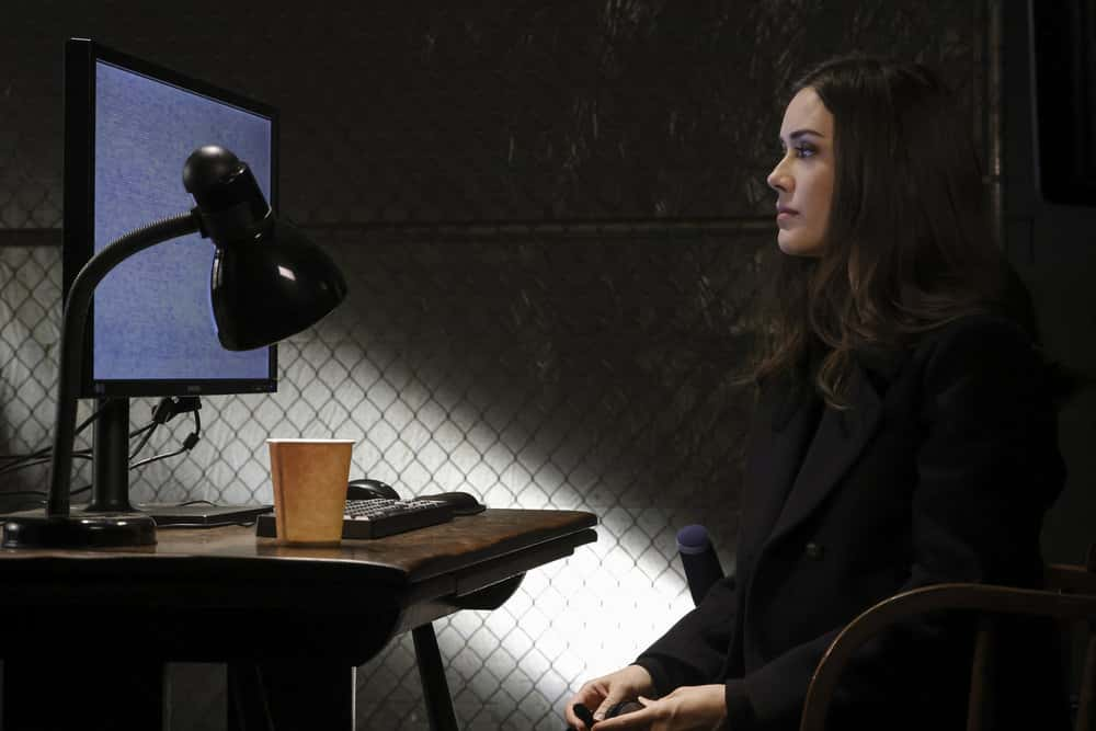 """THE BLACKLIST -- """"Misère"""" Episode 814 -- Pictured: Megan Boone as Liz Keen -- (Photo by: Will Hart/NBC)"""