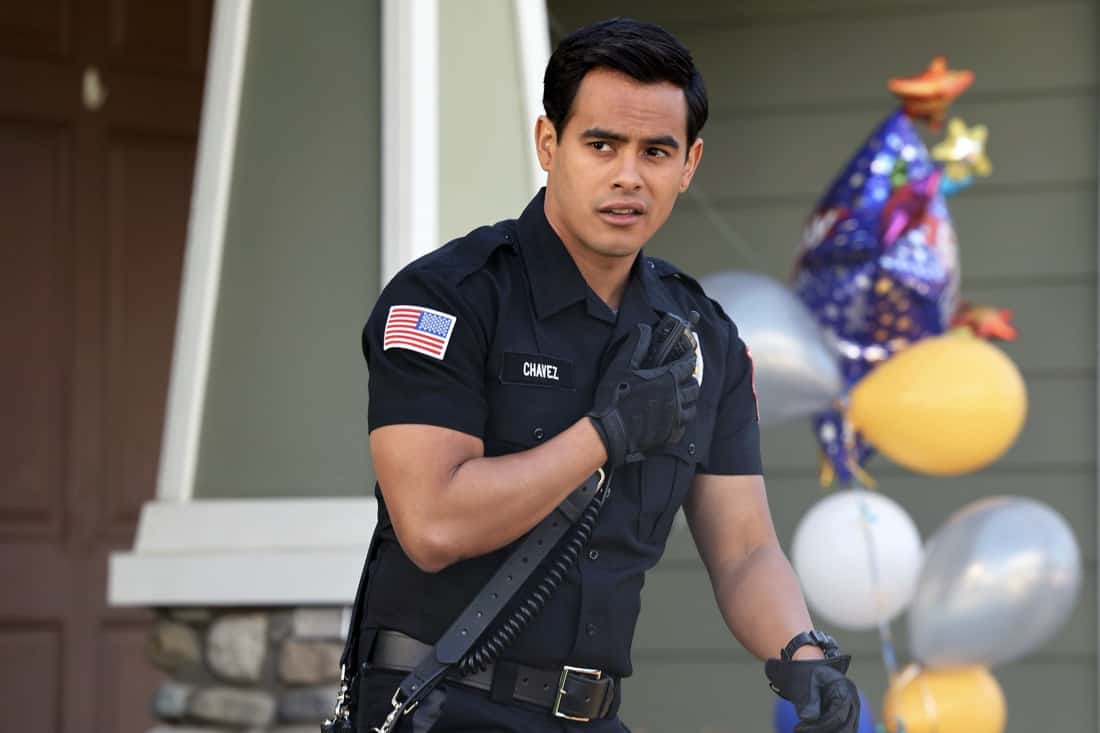 """9-1-1 LONE STAR Season 2 Episode 10 : Julian Works in the """"A Little Help From My Friends"""" episode of 9-1-1: LONE STAR airing Monday, April 26 (9:01-10:00 PM ET/PT) on FOX. © 2021 Fox Media LLC. CR: Jordin Althaus/FOX."""
