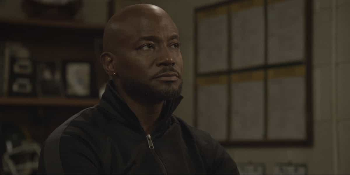 """All American Season 3 Episode 11 -- """"The Bigger Picture"""" -- Image Number: ALA311fg_0010r.jpg -- Pictured: Taye Diggs as Billy -- Photo: Erik Voake/The CW -- © 2021 The CW Network, LLC. All Rights Reserved"""