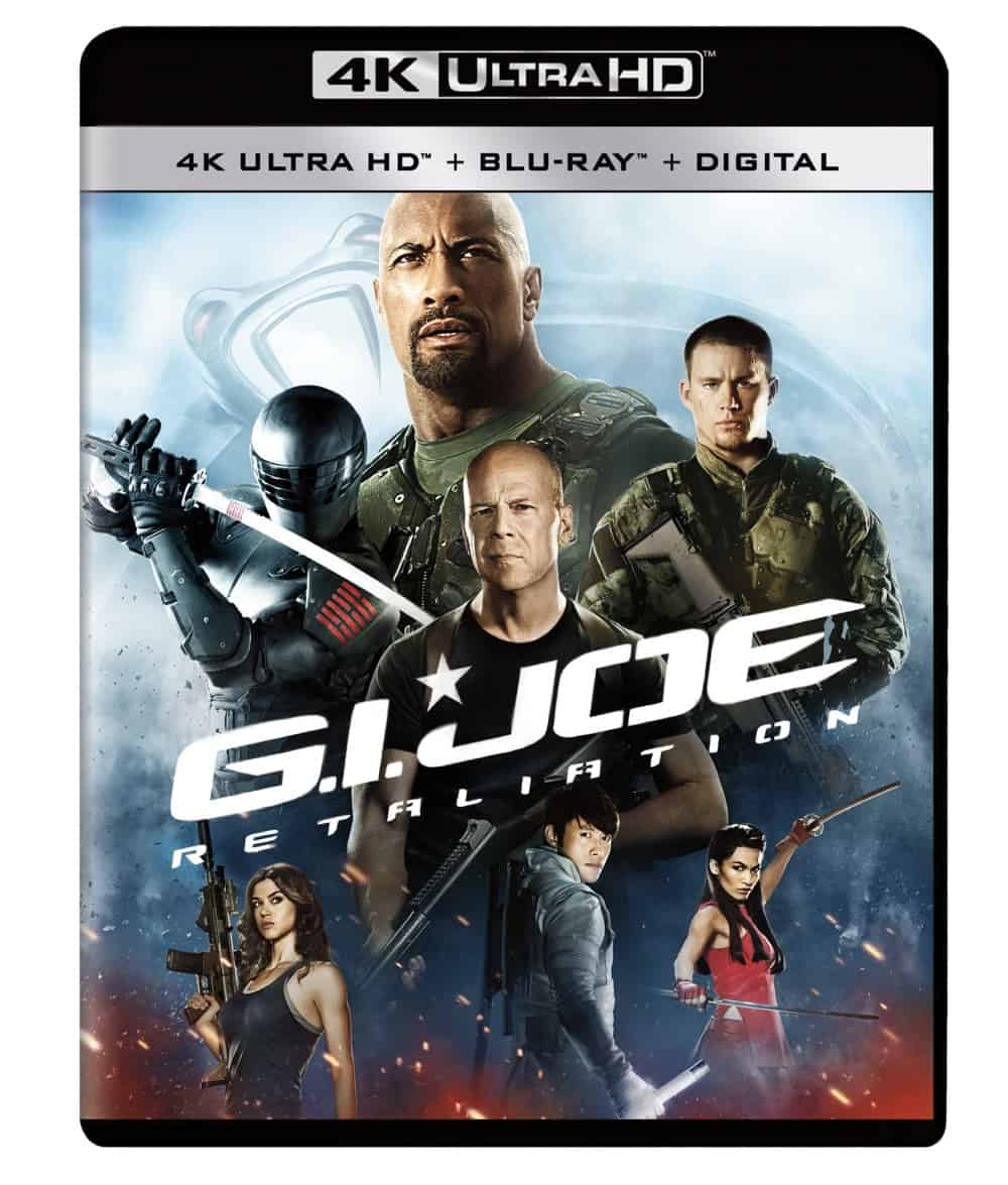 GI Joe Retaliation 4K UHD UHD Wrap Flat