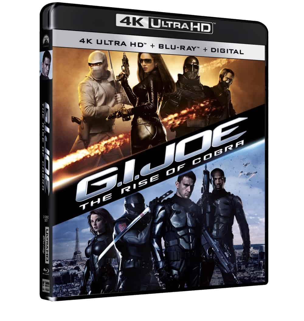 GI Joe Rise of Cobra 4K UHD Wrap Skew