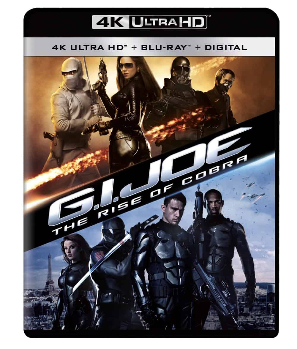 GI Joe Rise of Cobra 4K UHD Wrap Flat