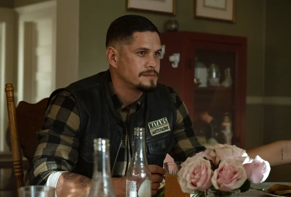 "MAYANS M.C. -- ""A Mixed-Up and Splendid Rescue"" -- Season 3, Episode 8  (Airs April 27)  Pictured: JD Pardo as EZ Reyes. CR: Prashant Gupta/FX"