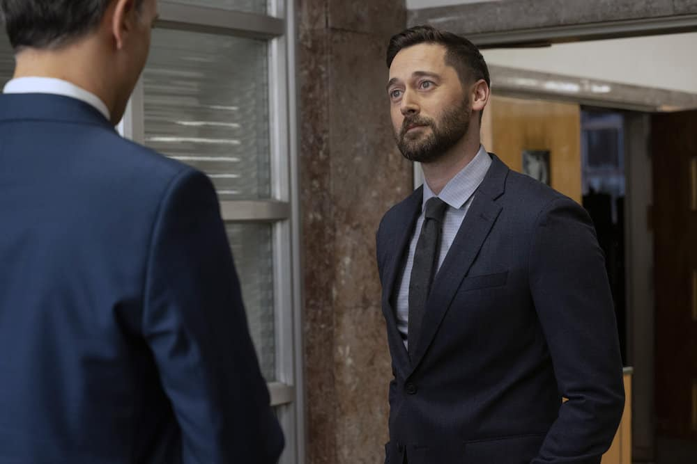 "NEW AMSTERDAM Season 3 Episode 9 -- ""Disconnected"" Episode 309 -- Pictured: Ryan Eggold as Dr. Max Goodwin -- (Photo by: Virginia Sherwood/NBC)"