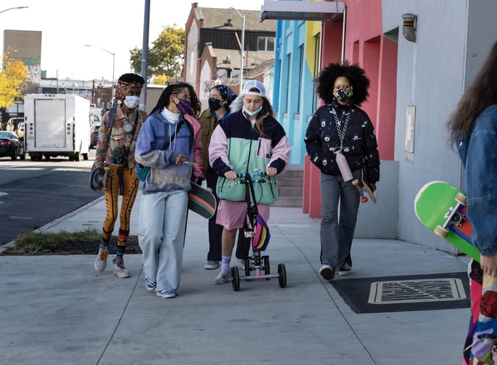 Betty Pictured- Moonbear, Dede Lovelace, Rachelle Vinberg, Nina Moran and Ajani Russell photo credit, Stephanie Mei-Ling HBO_1