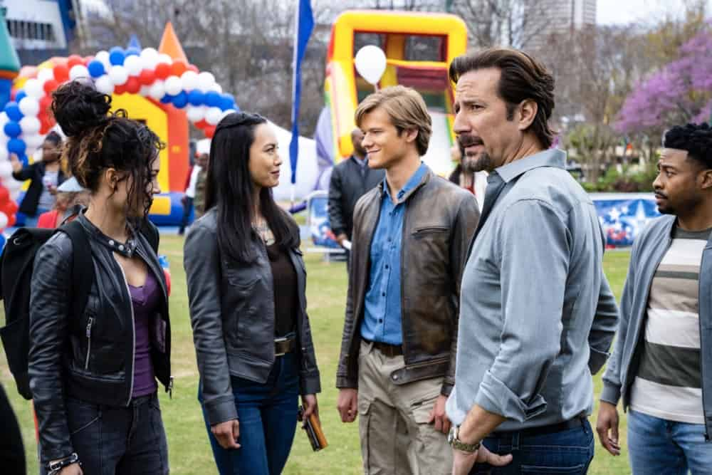MACGYVER Season 5 Episode 15 Photos Abduction + Memory + Time + Fireworks + Dispersal
