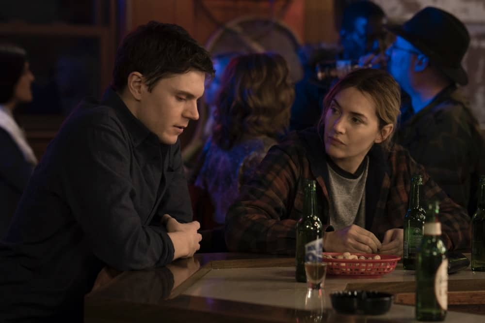 Mare Of Easttown Season 1 Episode 3 Evan Peters, Kate Winslet Episode 3 Photograph by Michele K. Short/HBO