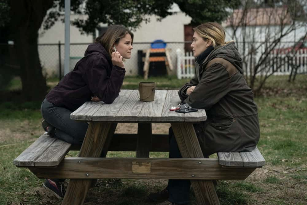 Sosie Bacon, Kate Winslet Episode 3 Photograph by Michele K. Short/HBO