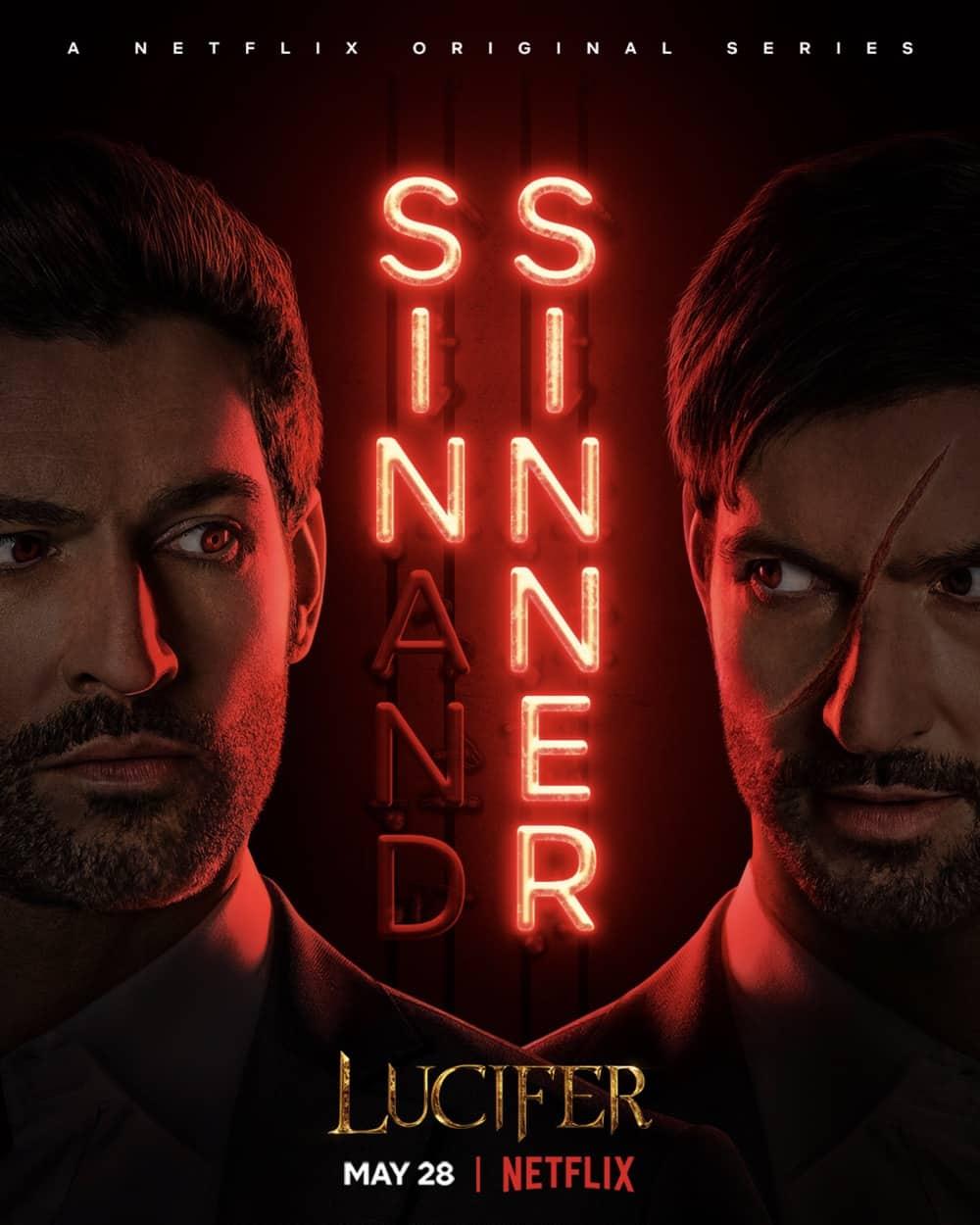 Lucifer Season 5 Part 2 Poster