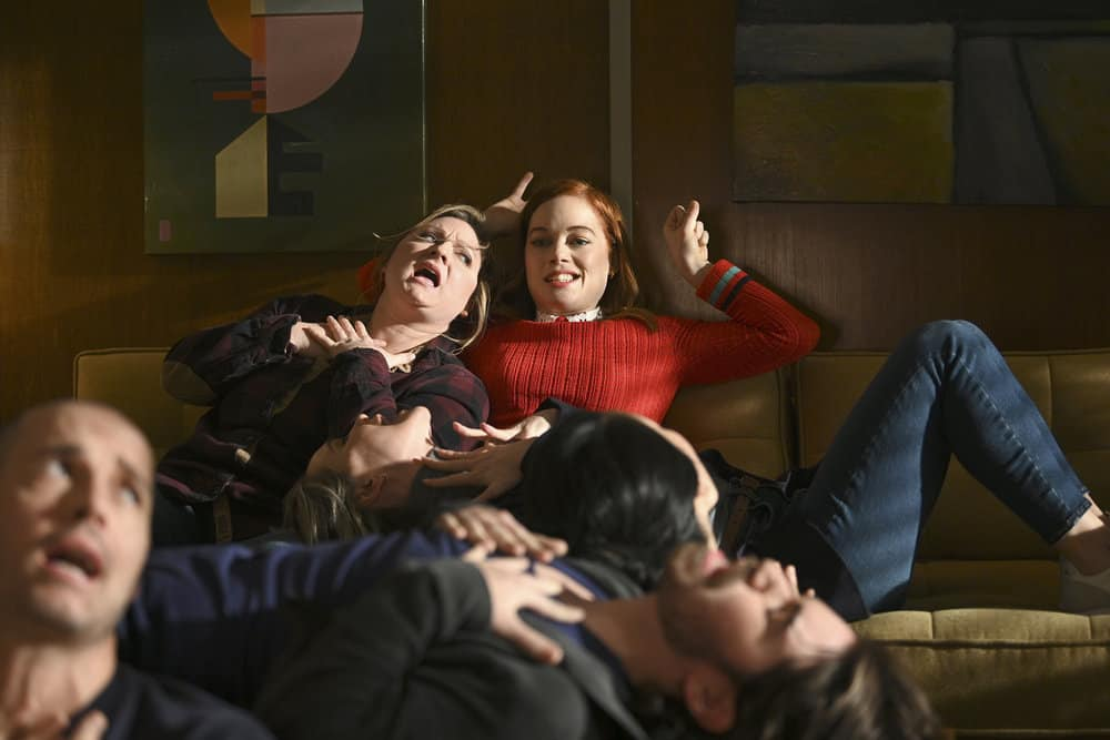 "ZOEY'S EXTRAORDINARY PLAYLIST Season 2 Episode 11 -- ""Zoey's Extraordinary Double Date"" Episode 211 -- Pictured: Jane Levy as Zoey Clarke -- (Photo by: Sergei Bachlakov/NBC/Lionsgate)"