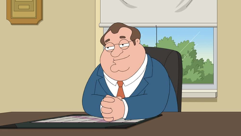 """FAMILY GUY Season 19 Episode 18: Meg deals with a college admissions scandal, while Brian embarks on a fitness journey in the  """"Meg Goes to College"""" episode of FAMILY GUY airing Sunday, May 2 (9:30-10:00 PM ET/PT) on FOX. FAMILY GUY © 2021 by 20th Television."""