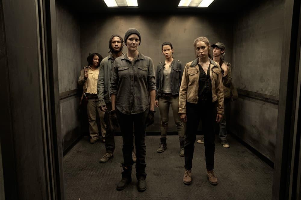 FEAR THE WALKING DEAD Season 6 Episode 11 Photos The Holding