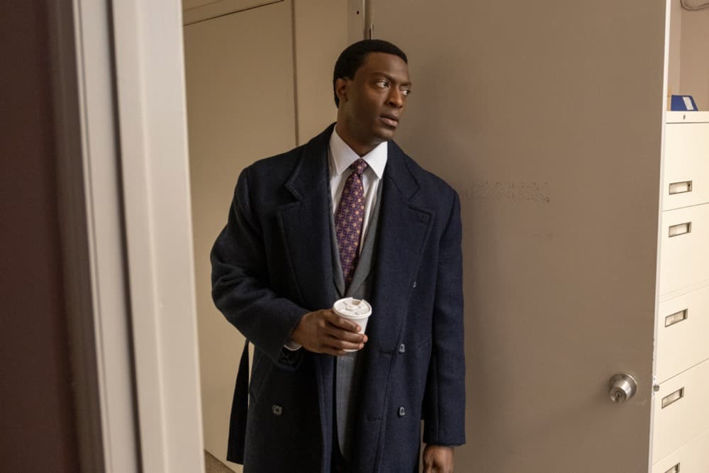 """City On A Hill Season 2 Episode 6 Aldis Hodge as Decourcy Ward in CITY ON A HILL, """"Don't Go Sayin' Last Words"""". Photo Credit: Francisco Roman/SHOWTIME."""