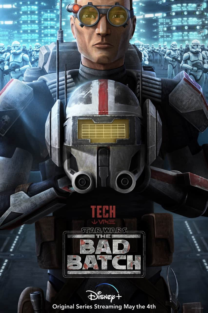 Star Wars The Bad Batch Poster Tech