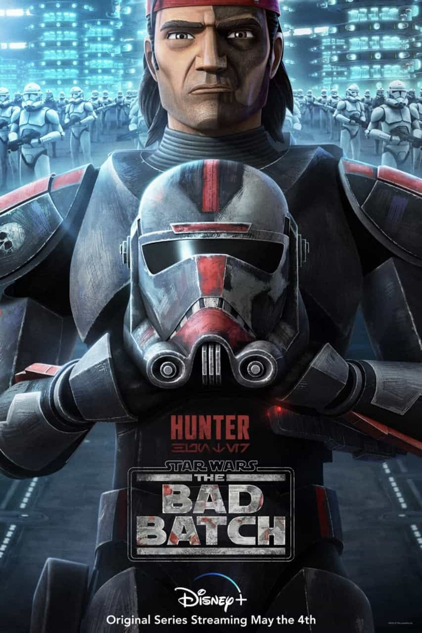Star Wars The Bad Batch Poster Hunter