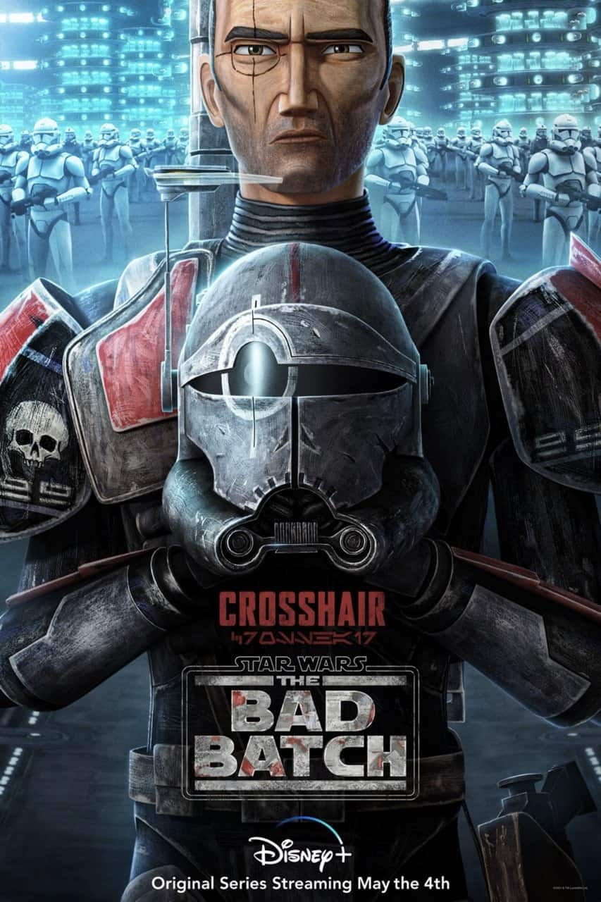 Star Wars The Bad Batch Poster Crosshair
