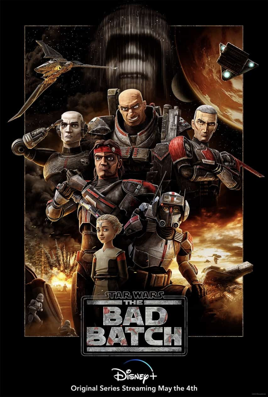 star wars the bad batch poster disney