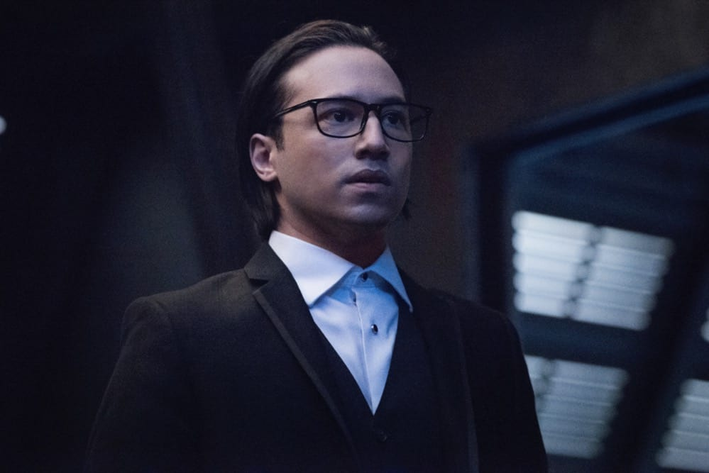 """SUPERGIRL Season 6 Episode 6-- """"Prom Again!"""" -- Image Number: SPG606b_0165r -- Pictured: Jesse Rath as Brainiac-5 -- Photo: Dean Buscher/The CW -- © 2021 The CW Network, LLC. All Rights Reserved."""