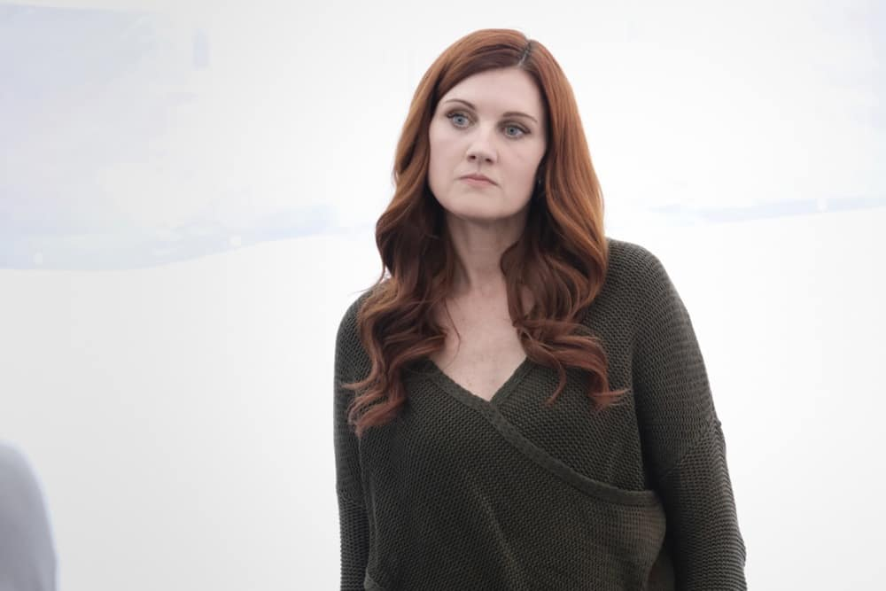 "THE FLASH Season 7 Episode 8 Photos The People V. Killer Frost -- ""The People V. Killer Frost"" -- Image Number: FLA708a_0090r.jpg -- Pictured: Michelle Harrison as Nora -- Photo: Bettina Strauss/The CW -- © 2021 The CW Network, LLC. All Rights Reserved."