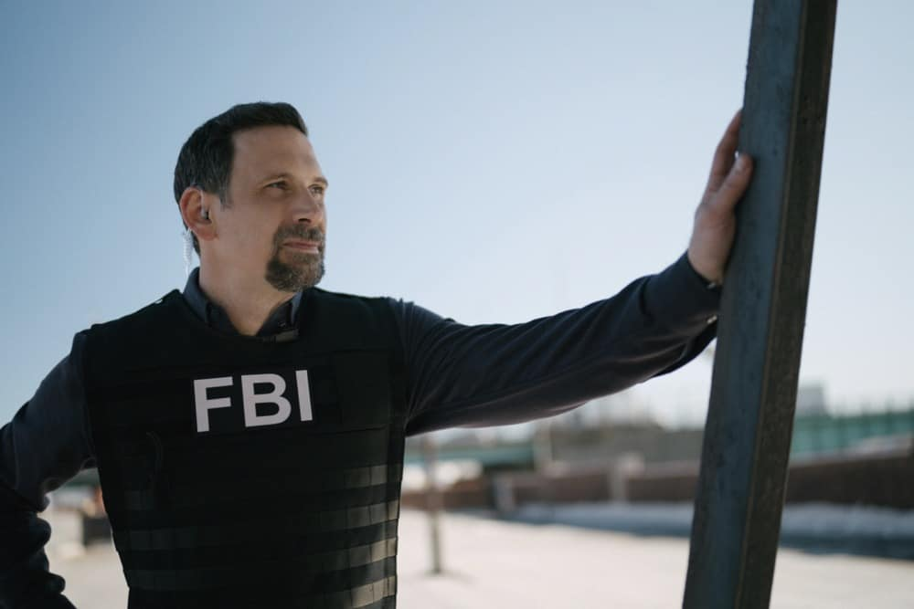 """FBI Season 3 Episode 12 """"Fathers and Sons"""" -- The team rushes to track down two doctors abducted by a desperate father willing to do anything to save his son. Also, Jubal\'s uncertainty in his family life affects his judgement during the hostage situation, on FBI, Tuesday, May 4  (9:00-10:00 PM, ET/PT) on the CBS Television Network.    Pictured Jeremy Sisto as Assistant Special Agent in Charge Jubal Valentine  Photo: Michael Parmelee/ 2021 CBS Broadcasting, Inc. All Rights Reserved."""