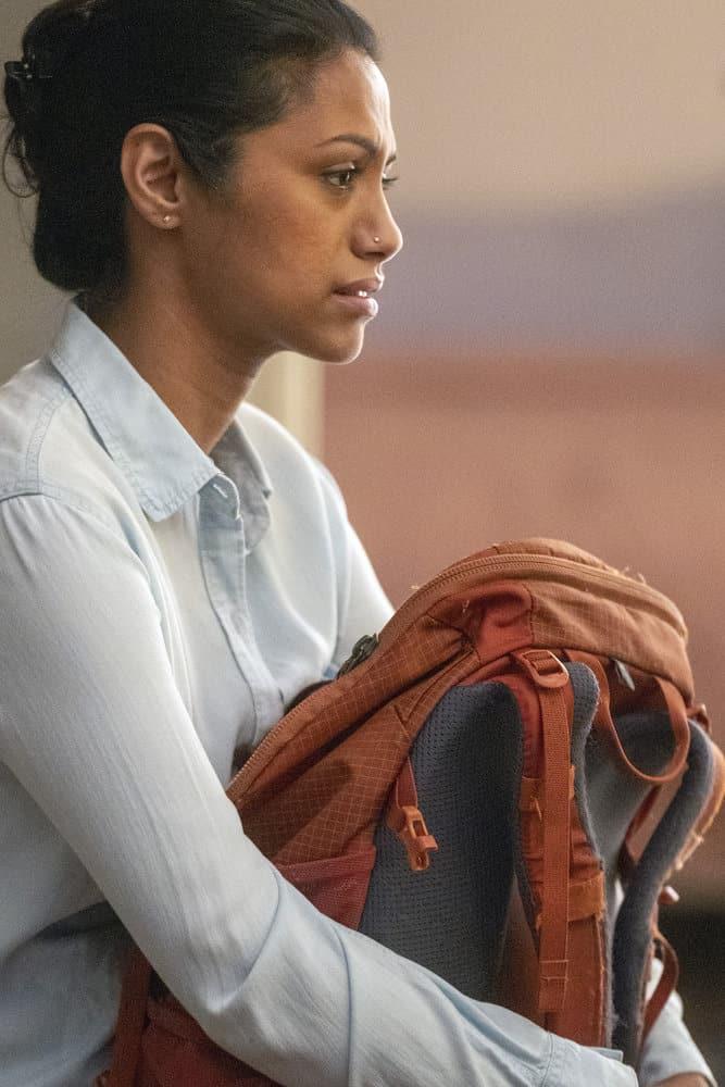 "NEW AMSTERDAM Season 3 Episode 10 -- ""Radical"" Episode 310 -- Pictured: Shiva Kalaiselvan as Leyla -- (Photo by: Scott Gries/NBC)"