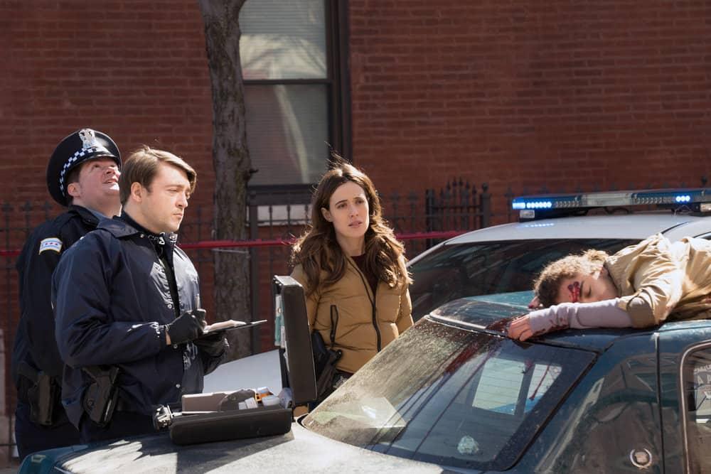 "CHICAGO PD Season 8 Episode 13 -- ""Trouble Dolls"" Episode 813 -- Pictured: Marina Squerciati as Kim Burgess -- (Photo by: Lori Allen/NBC)"