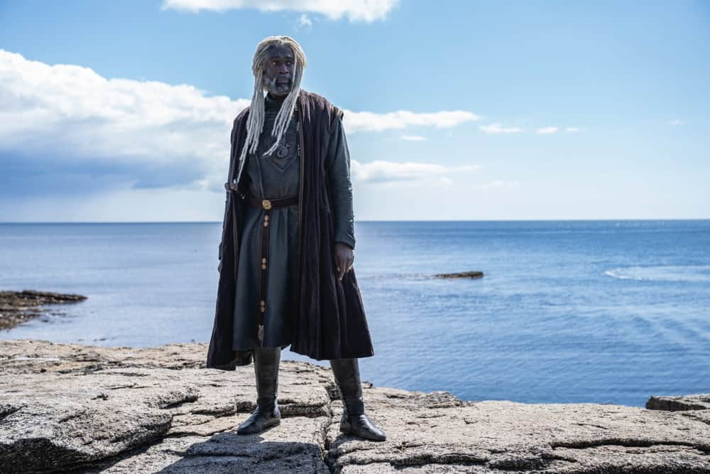 """Steve Toussaint as Lord Corlys Velaryon, """"The Sea Snake""""Photograph by Ollie Upton/HBO House Of The Dragon"""