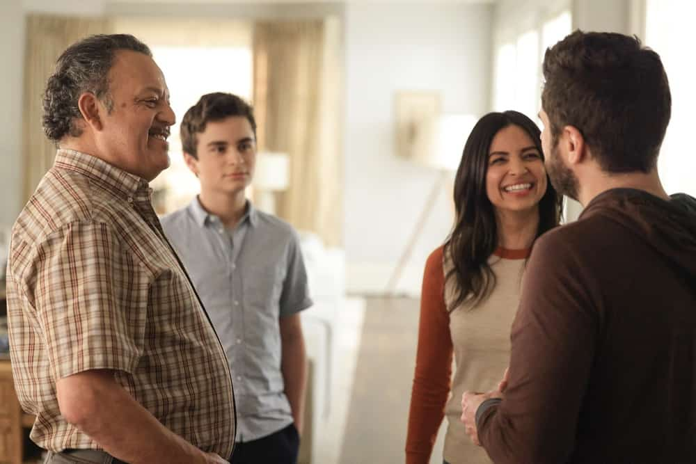 """A MILLION LITTLE THINGS Season 3 Episode 12 - """"junior"""" – Gary's dad connects with Darcy about his personal experience from the Vietnam War. Meanwhile, during a dinner hosted by Rome and Regina, the video of George Floyd's murder is released, and they watch together in shock on a new episode of """"A Million Little Things,"""" WEDNESDAY, MAY 5 (10:00-11:00 p.m. EDT), on ABC. (ABC/Jack Rowand) PAUL RODRIGUEZ"""