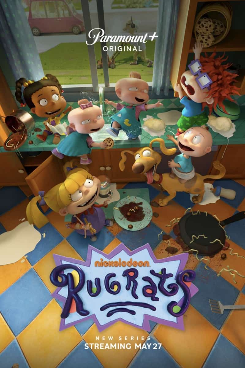 Pictured: Key Art for the Paramount+ series RUGRATS. Photo Cr: Nickelodeon/Paramount+ ©2021, All Rights Reserved.