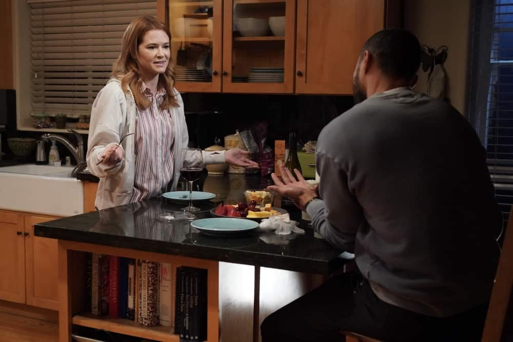 """GREY'S ANATOMY Season 17 Episode 14 - """"Look Up Child"""" – Jackson pays a visit to his father that helps set him on the right path on a new episode of """"Grey's Anatomy,"""" THURSDAY, MAY 6 (9:00-10:01 p.m. EDT), on ABC. (ABC/Richard Cartwright) SARAH DREW"""
